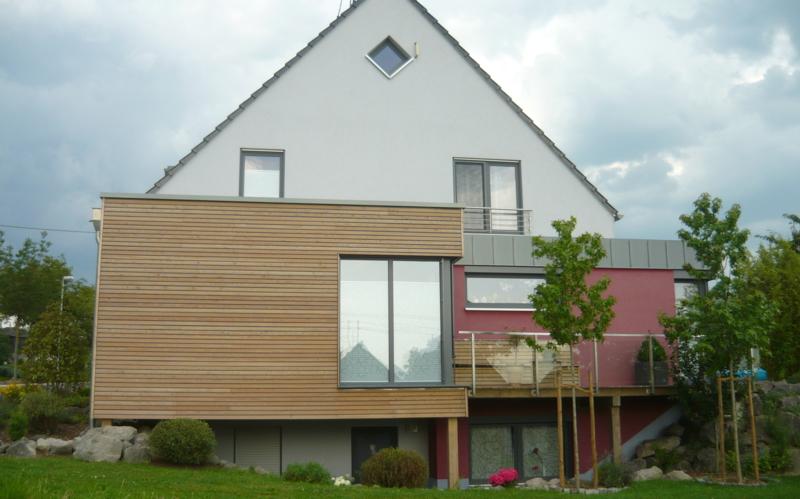 Haus Fassaden hüllen fürs haus fassaden dämmung aus holz